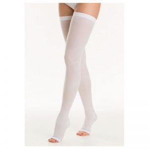 Κάλτσα αντιθρομβωτική ριζομηρίου με σιλικόνη 18-24mmHg